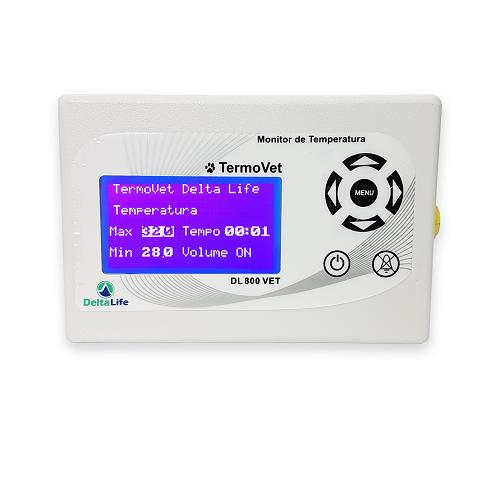 Termômetro Veterinário - DELTA LIFE - Cód: DL800