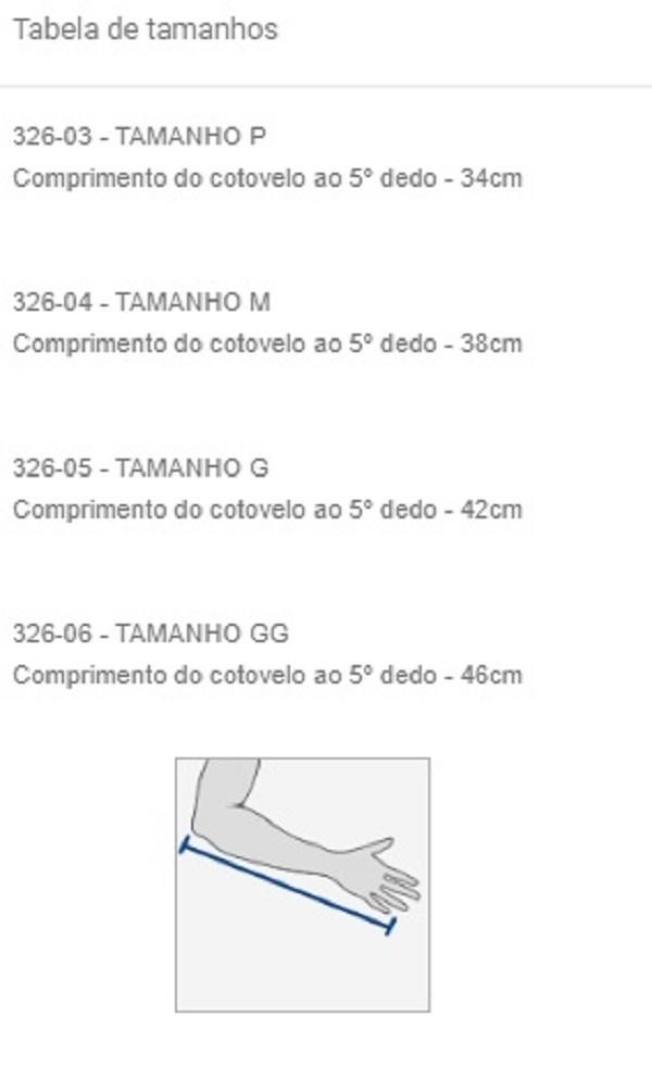 Tipóia de Brim Estofado - Salvapé - Cód: 326