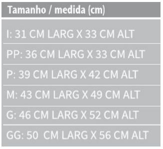 Tipóia Velpeau Almofadada em Nylon (Bilateral) - DORTLER - Cód: D-240