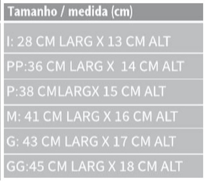 Tipóia Velpeau Bilateral Oxford Almofadada (Bilateral) - INFANTIL - DORTLER - Cód: D-260-INF