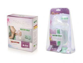 Tira-leite Matern Milk 110V Verde Blister - EME Equipment - Cód: EME - 091