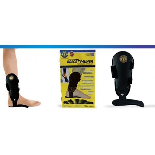 Tornozeleira Articulada BracePauher (Lado Direito)  - Ortho Pauher - Cód: AC 112D
