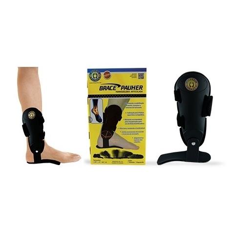 Tornozeleira Articulada BracePauher (Lado Esquerdo) - Ortho Pauher - Cód: AC 112E