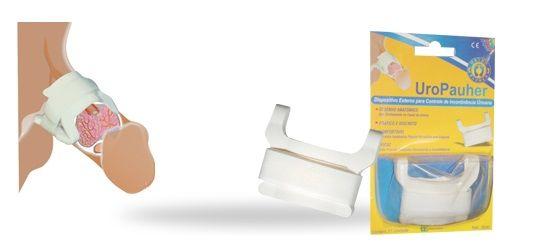 UroPauher - Dispositivo Externo para Controle de Incontinência Urinária - Ortho Pauher - Cód: OP 3030