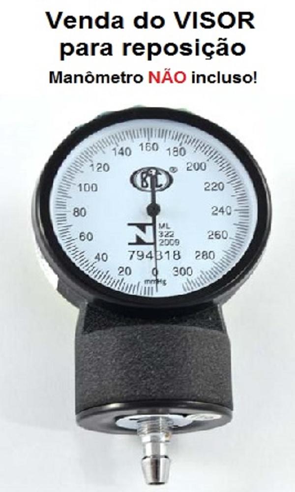 Visor para Manômetro (Unitário) - BIC - Cód: IA0701Q_estq