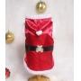 Capa Pet Natal com Capuz