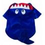 Casaco Pet Tubarão Azul - Tamanho 3