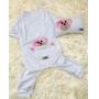 Kit Pet Pijama + Travesseiro - Ursinho Liso Dudog