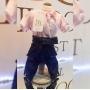 Macacão Pet Jeans com Plush Dudog