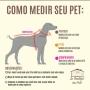 Peitoral Pet Capitão América Luxo - Tamanho M