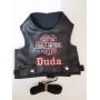 Peitoral Pet Harley Davidson - Personalizada