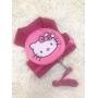 Peitoral Pet Mochila Hello Kitty
