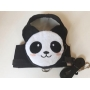 Peitoral Pet Mochila Panda