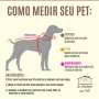 Peitoral Pet X - Super Cães