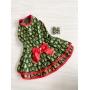 Vestido Pet Árvore de Natal