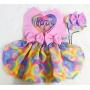 Vestido Pet + Boné Love Colors