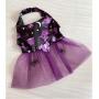 Vestido Pet Halloween Purple