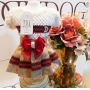Vestido Pet Inspired Gucci Dudog - Tamanho G