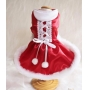 Vestido Pet Natal Corset