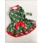 Vestido Pet Natal Hohoho