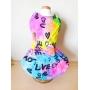 Vestido Pet Tie Dye Love