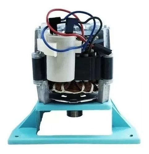 5 Motor Suggar Polia Estriada Longa C/suporte 127vc/ Capacit semi novos