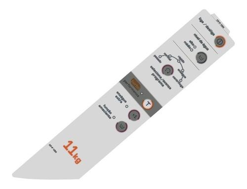 Adesivo Para Painel Lavadora Brastemp Bwc11ab Original