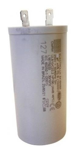 Capacitor 20uf 250v Com Terminais Weg