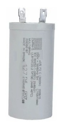 Capacitor Lavadora Electrolux Ltd15 Ltd16 Lte09 Lte12 127v