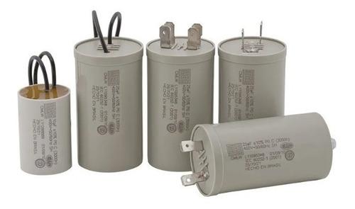 Capacitor Permanente 12uf 250 Com 2 Terminais