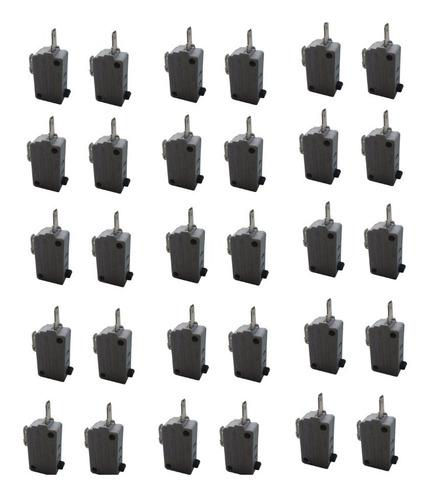 Chave Micro Switch Para Forno Microondas 2term (30 Unidades)