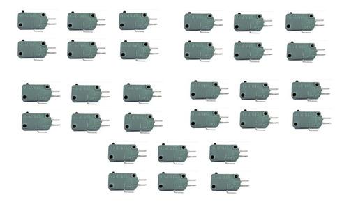 Chave Micro Switch Para Forno Microondas (30 Unidades)