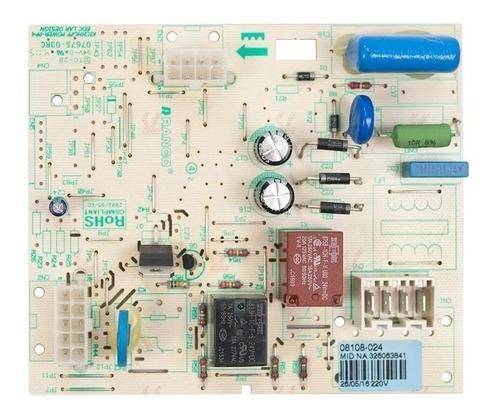 Controle Eletronico Geladeira Brastemp Brm48d 220 Volts