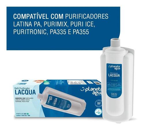 Filtro Refil P355 Latina Pa335 Pa355 Puritronic Purimix Vela