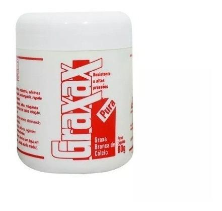 Graxa Branca De Cálcio Pote 80g Graxax