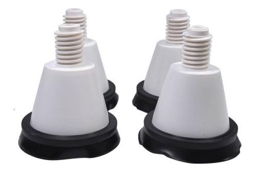 Jogo Pés Compatível Lavadora Electrolux Top08 Ltd13 Ltd16