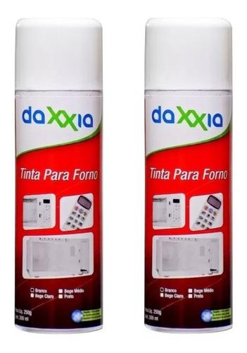 Kit Com 2 Tinta Spray Interna E Externa Branca Microondas