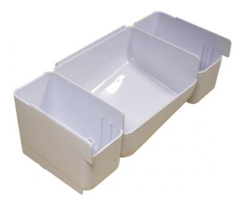Kit Gaveta Sabão + Puxador Brastemp 3 Compartimentos