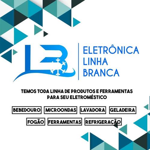 Microchave Porta Microondas Electrolux Brastemp 3 Terminais