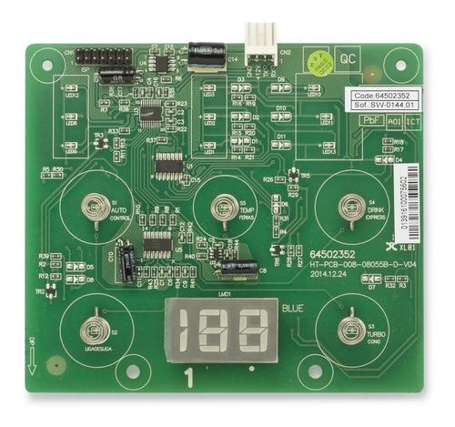 Placa Interface Geladeira Electrolux Df80 Df80x Dw51 Dwn51