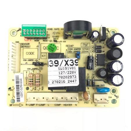 Placa Potencia Geladeira Electrolux Dfn39 Dfx39 Bivolt