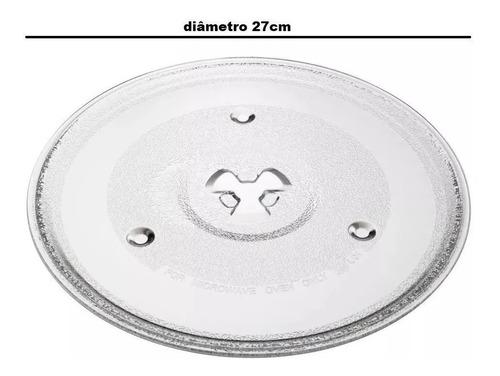 Prato De Forno Microondas Electrolux Mef33 / Mef 33 27cm