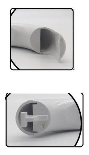 Puxador Da Porta Prata Geladeira Bosch Ksu Glass Line
