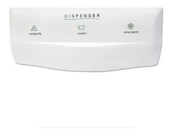 Puxador Do Dispenser Brastemp Bwg10a Bwb22 Bwf09 Bwm08