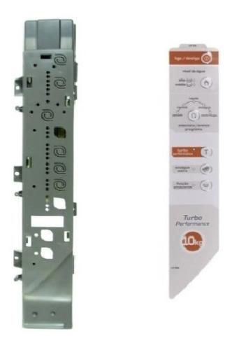 Suporte Placa Interface + Adesivo Brastemp Bwg 10 Bwc11