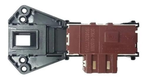 Trava Da Porta Lava Seca Samsung 127v - Original Dc64-01538b