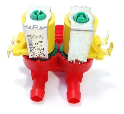 Válvula Dupla Lavadora Electrolux Lbq12 Lt12f 127v 64287503