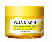 Máscara de Dormir Mi Yuja Niacin Brightening Sleeping Mask - Some By Mi