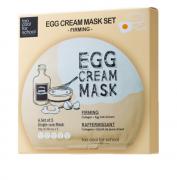 Máscara Egg Cream Mask Firming Set   - Too Cool for School