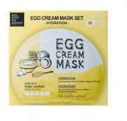 Máscara Egg Cream Mask Hydration Set  - Too Cool for School